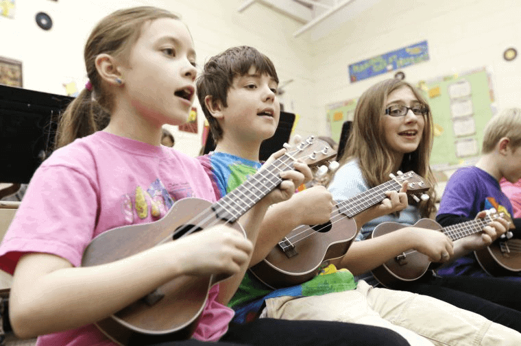 Left-Handers In a Right-Handed Music World-school