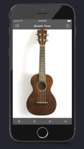 ukulele tuner