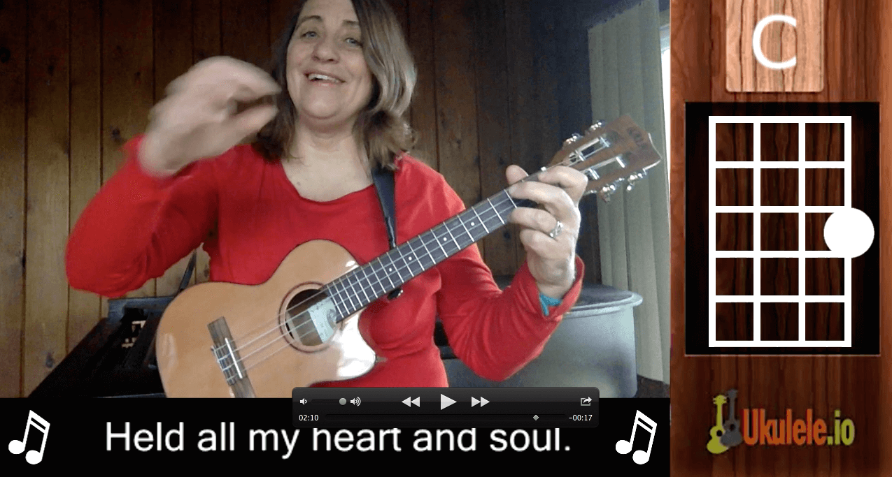 Heart and Soul with ukulele tab