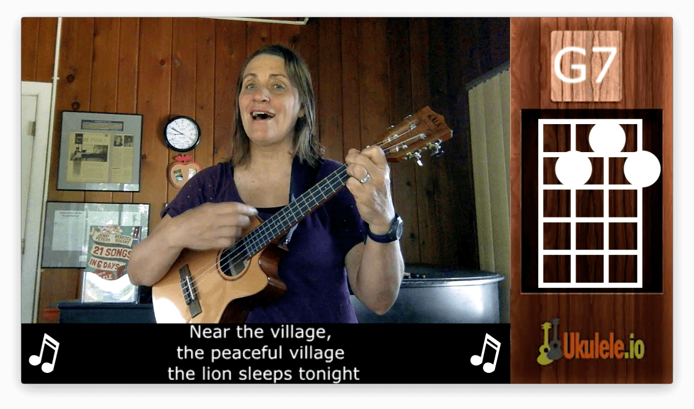 "Lesson on ""The Lion Sleeps Tonight"""