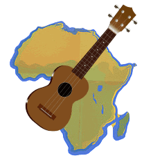 Playing the Ukulele in Africa