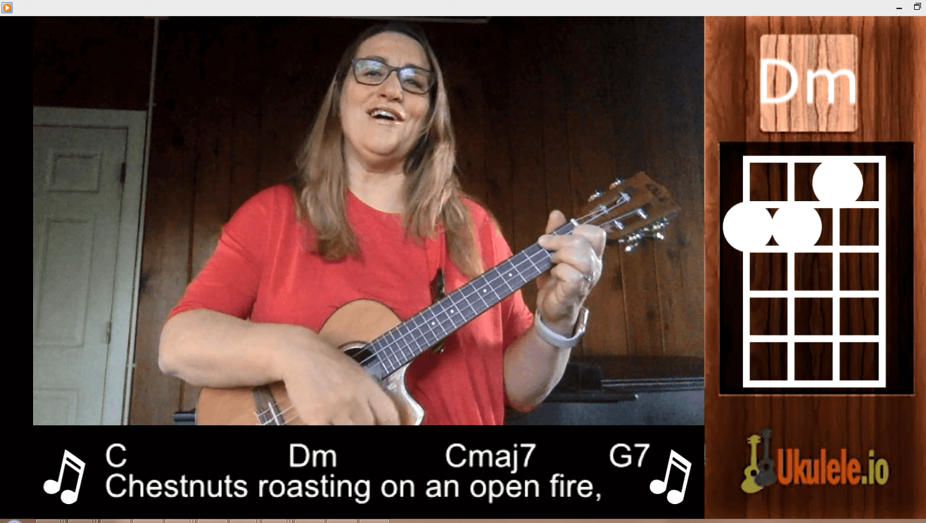 Ukulele Tutorial The Christmas Song – Chestnuts Roasting on an Open Fire
