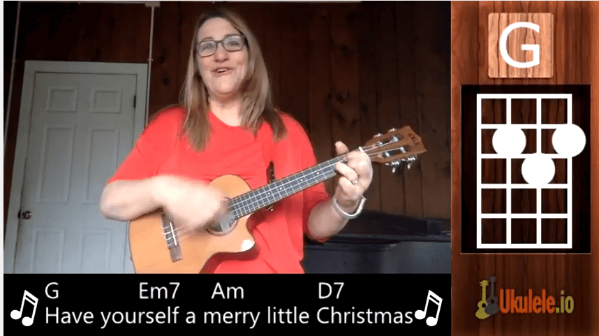 Have Yourself a Merry Little Christmas, a Ukulele Tutorial
