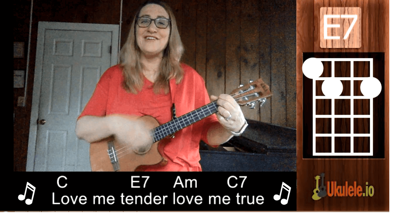 How to Play Love Me Tender – An Easy Ukulele Song for Valentine's Day