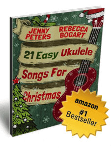 21 Easy Ukulele Songs for Christmas ukulele book cover