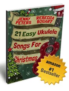 21 Easy Ukulele Songs for Christmas ukulele book cover