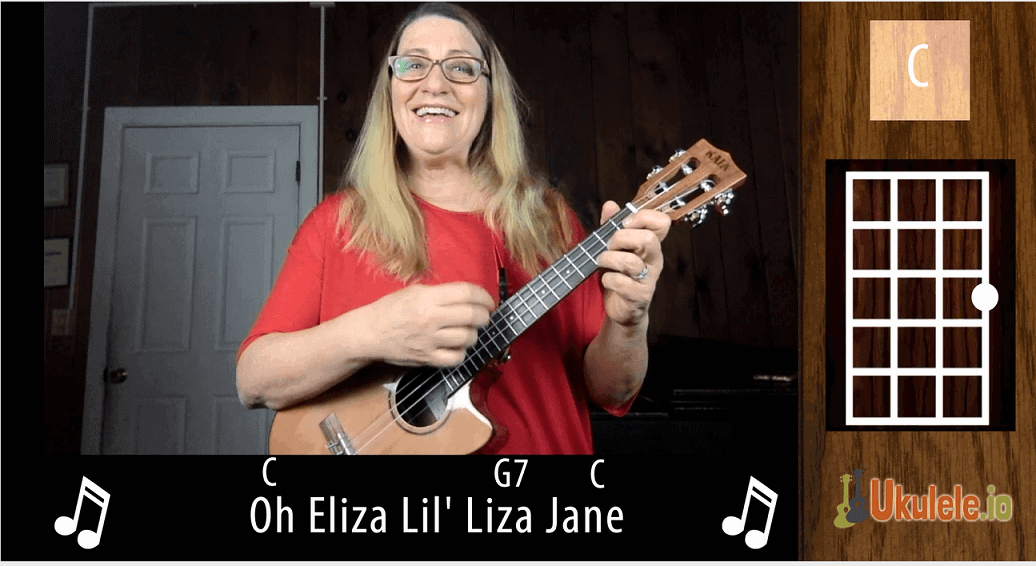 Li'l Liza Jane Easy Ukulele Tutorial