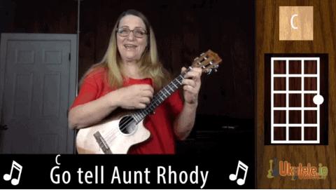 Go Tell Aunt Rhody Ukulele Tutorial With Melody Tab