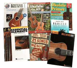 7 Beginner Ukulele Books