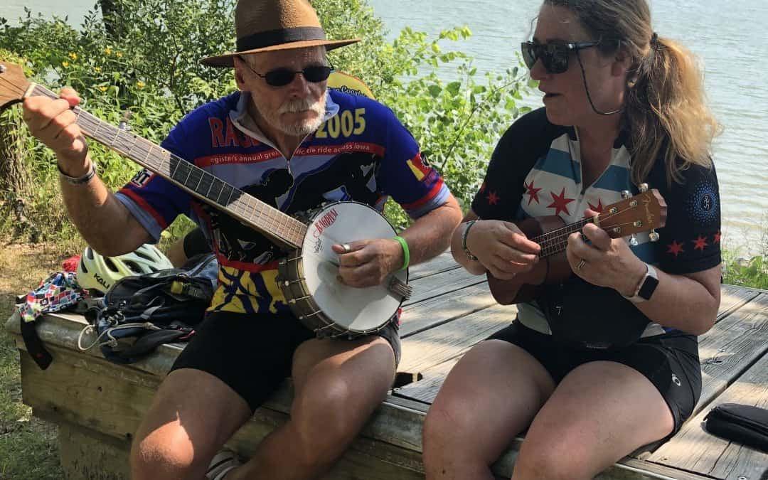 Making Music on RAGBRAI 2019