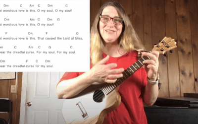What Wondrous Love Is This Hymn Ukulele Tutorial