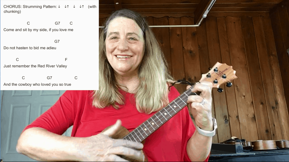 Red River Valley Ukulele Tutorial and Strumming Patterns